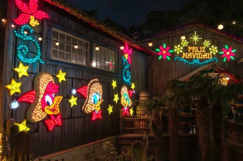 The Three Caballeros Christmas Decorations Tokyo DisneySea