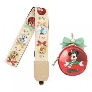 Tokyo Disney Resort Christmas Camera Strap