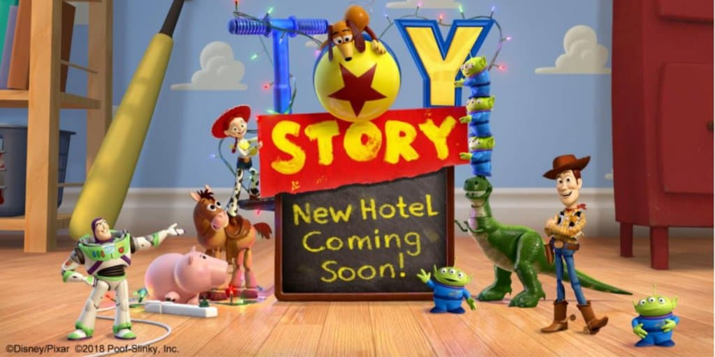 New Toy Story Hotel Coming to Tokyo Disney Resort