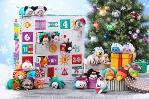 Tsum Tsum Advent Calendar Hong Kong Disneyland Christmas 2018