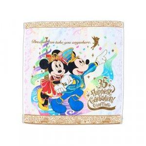 Wash Towel Tokyo Disney Resort 35th Anniversary Grand Finale