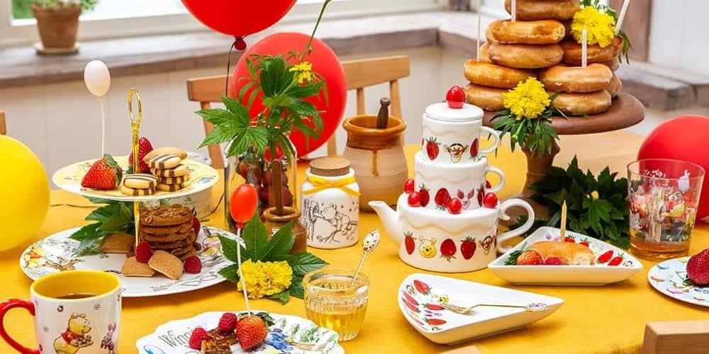Winnie the Pooh Afternoon Tea Merchandise