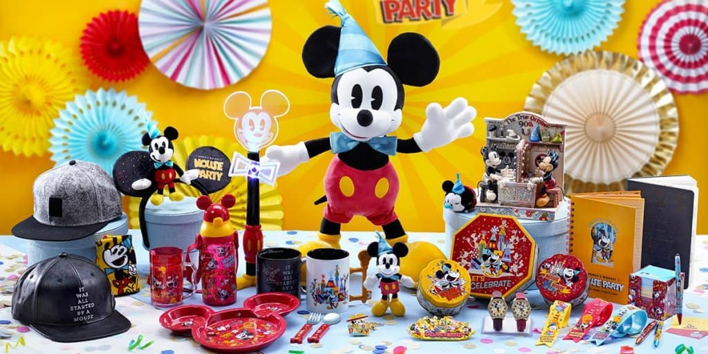 """World's Biggest Mouse Party"" Merchandise & Food at Hong Kong Disneyland"