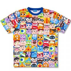 Adult T-shirt Tokyo DisneySea Pixar Playtime Merchandise 2019