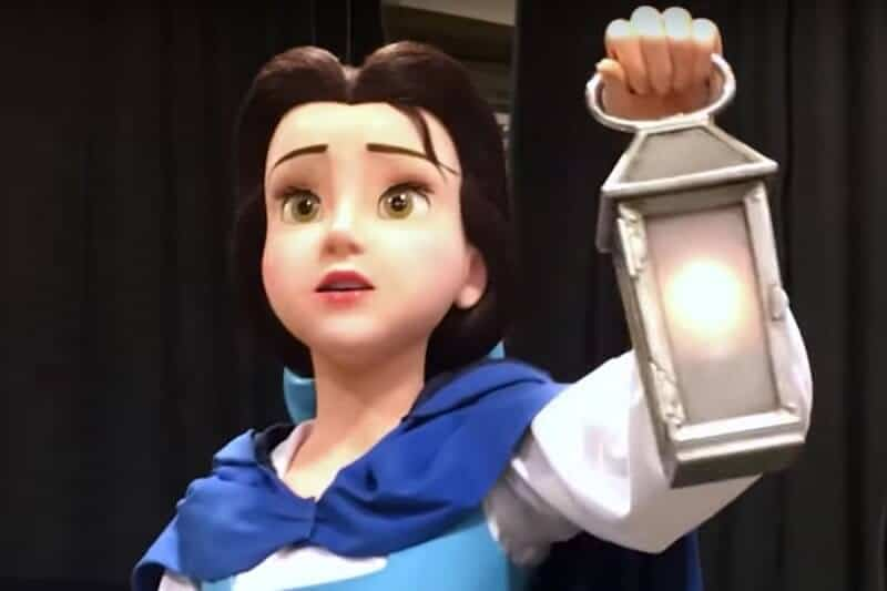 Beauty and the Beast Animatronic Tokyo Disneyland