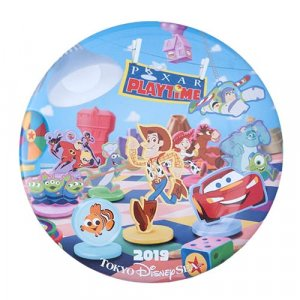 Can Badge Tokyo DisneySea Pixar Playtime Merchandise 2019