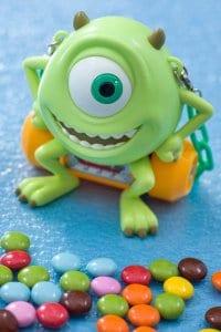 Chocolate Candy and Mike Case Tokyo DisneySea Pixar Playtime Menu 2019