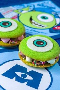 Mike Cookie Sandwich Tokyo DisneySea Pixar Playtime Menu 2019