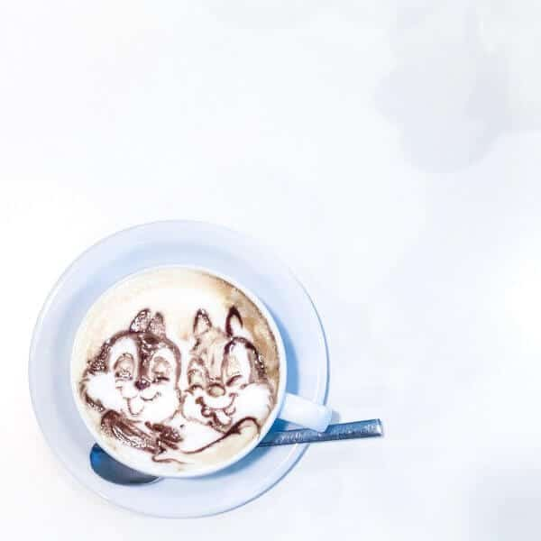 Reissue Latte Art Cafe Chip n Dale Latte