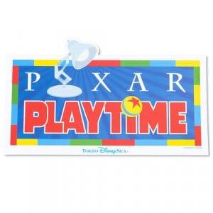 Sticker 6 Tokyo DisneySea Pixar Playtime Merchandise 2019