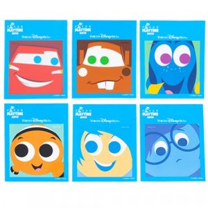 Stickers 2 Tokyo DisneySea Pixar Playtime Merchandise 2019