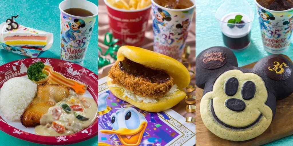 Tokyo Disney Resort 35th Anniversary Grand Finale Food and Snacks 2019