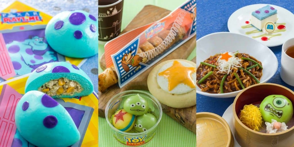 Tokyo DisneySea Pixar Playtime Food and Drinks Menu 2019