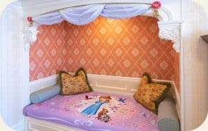 Alcove Bed Sofia the First Hotel Room Tokyo Disneyland Hotel