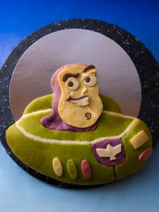 Buzz Lightyear Bread Pixar Playtime Tokyo Disney Resort Hotel Menu