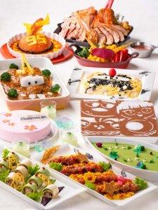 Chef Mickey Buffet Pixar Playtime Tokyo Disney Resort Hotel Menu
