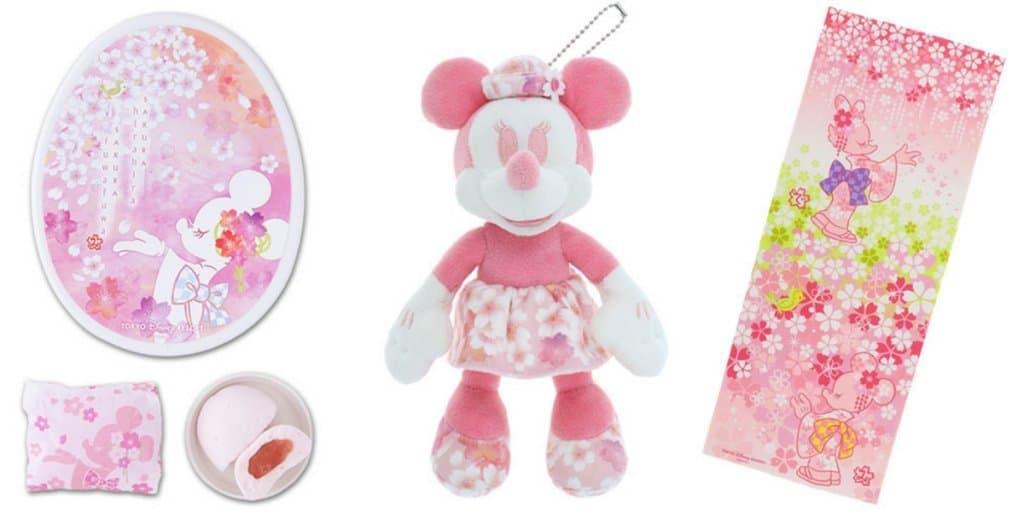 Cherry Blossom Pink Merchandise at Tokyo Disney Resort 2019
