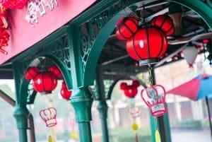 Shanghai Disneyland Decorations