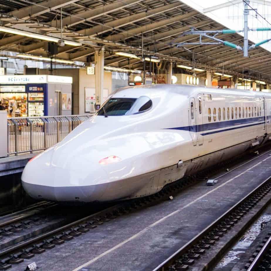 JR Rail Pass Bullet Train Shinkansen