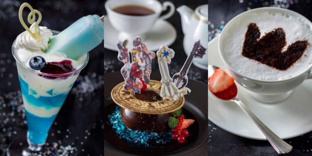 Kingdom Hearts Desserts Menu at Tokyo Disney Resort