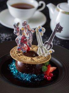 Kingdom Hearts Menu Tokyo Disney Resort Cake