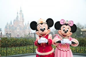 Mickey and Minnie New Year Costumes