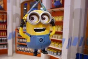 Minion Popcorn Bucket Universal Studios Singapore