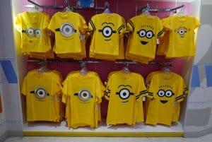Minions T-shirts Universal Studios Singapore