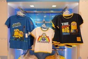 Minions Tshirts Universal Studios Singapore