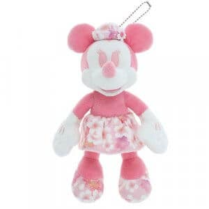 Minnie Plush Badge Cherry Blossom Merchandise Tokyo Disney Resort 2019