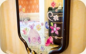 Mirror Sofia the First Hotel Room Tokyo Disneyland Hotel