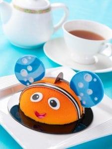 Nemo Cake Set Pixar Playtime Tokyo Disney Resort Hotel Menu