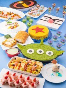 Oceano Buffet Pixar Playtime Tokyo Disney Resort Hotel Menu