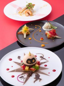 Oceano Lunch Course Pixar Playtime Tokyo Disney Resort Hotel Menu