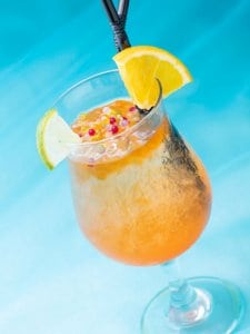 Pineapple Special Drink Pixar Playtime Tokyo Disney Resort Hotel Menu