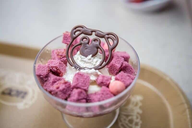 Lotso Lotso Panna Cotta Dessert at Tokyo DisneySea