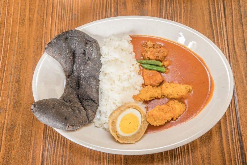 Chicken Curry with Fried Chicken at Tokyo DisneySea
