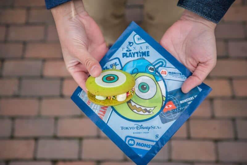 Mike Wazowski Cookie at Tokyo DisneySea