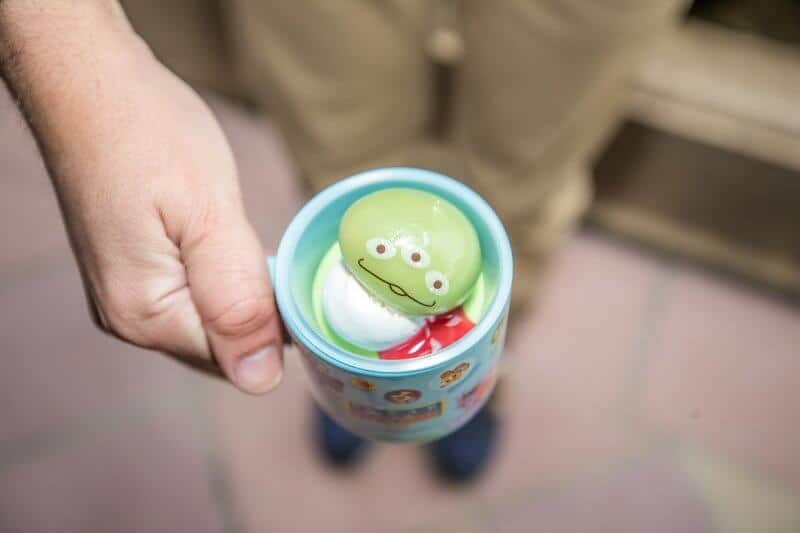 Pistachio & Vanilla Mousse Dessert with Souvenir Cup at Tokyo DisneySea