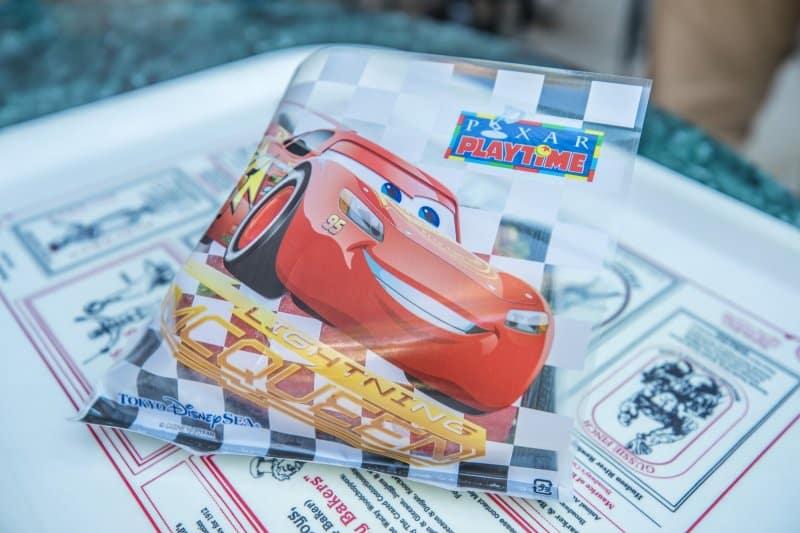 Lightning McQueen Sukiyaki Sandwich at Tokyo DisneySea