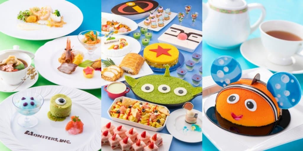 Tokyo Disney Resort Hotels Pixar Playtime Menu 2019