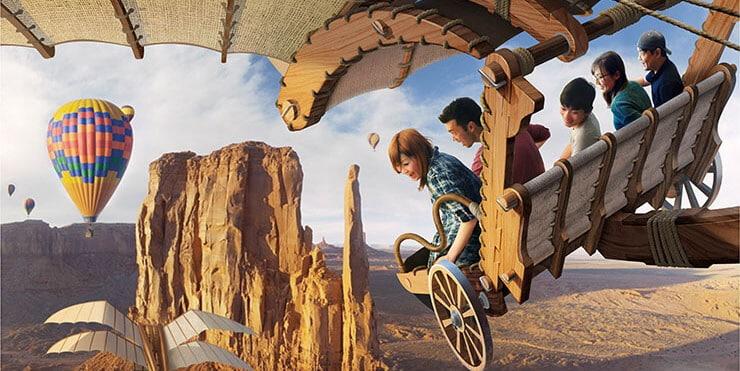 Soaring: Fantastic Flight Opens July 23, 2019, at Tokyo DisneySea