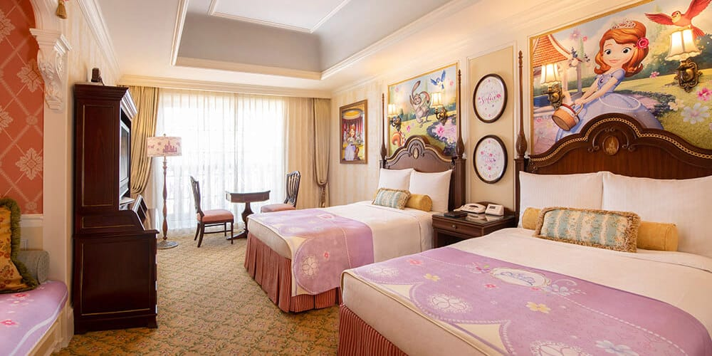 Sofia the First Hotel Rooms Coming to Tokyo Disney Resort
