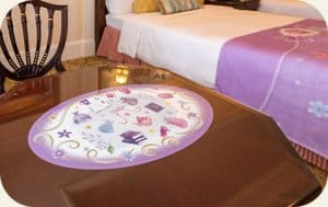 Table Sofia the First Hotel Room Tokyo Disneyland Hotel