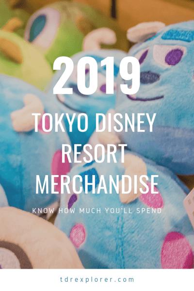 Tokyo Disneyland Merchandise 2019