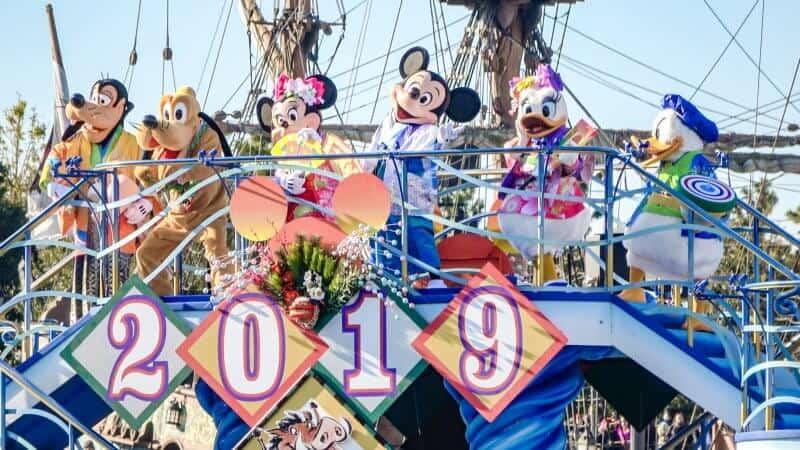 Tokyo DisneySea New Year's 2019 Greeting