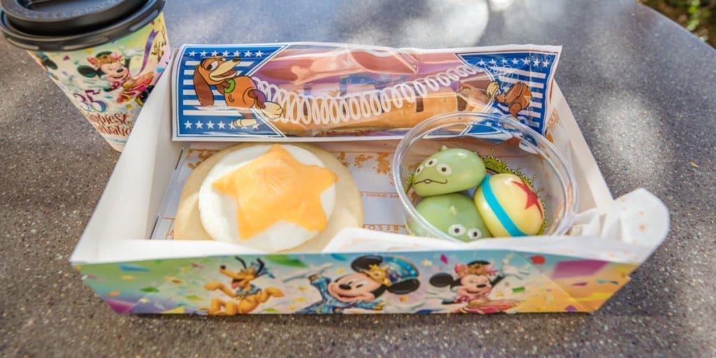Pixar Playtime Food Guide 2019 at Tokyo DisneySea