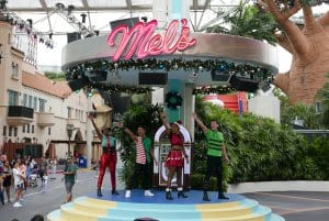 Turntables Universal Studios Singapore