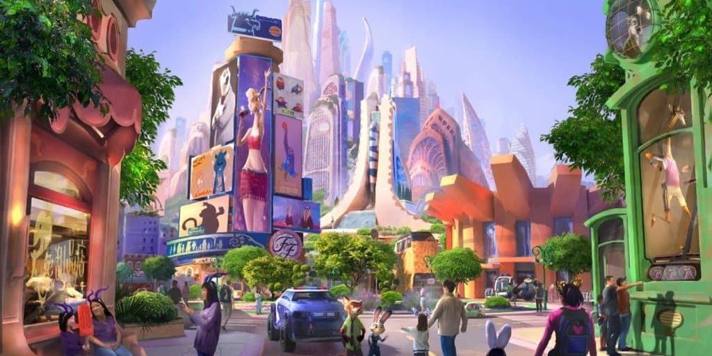 Zootopia Expansion Coming to Shanghai Disneyland