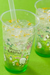 Apple and Jelly Sparkling Drink Easter Menu Tokyo Disneyland 2019